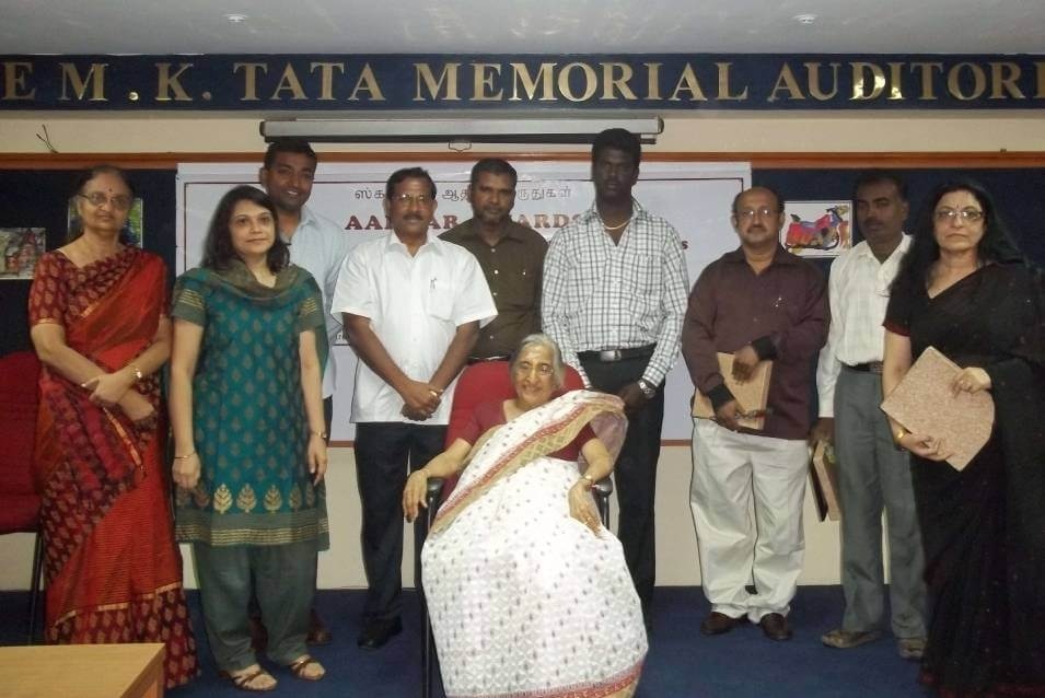Aadhar awards for caregivers of person with severe mental illness