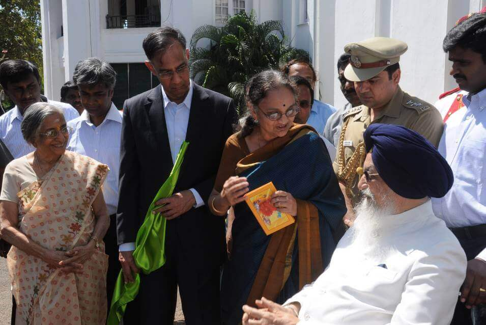 Mobile Telepsychiatry launched by Ex Hon. Governor of Tamil Nadu, Surjit Singh Barnala